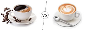 Coffee vs Cappuccino