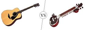 Guitar vs Sitar