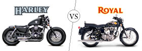 Harley Davidson vs Royal Enfield
