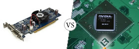 Dedicated vs Integrated Graphics Card