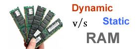 Dynamic vs Static RAM