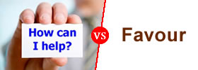 Help vs Favour