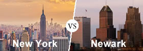 New York vs Newark
