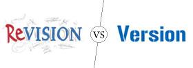 Revision vs Version
