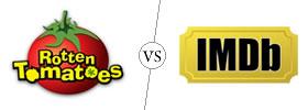 Rotten Tomatoes vs IMDb