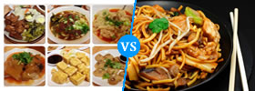 Taiwanese Food vs Chinese Food