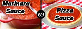 Marinara Sauce vs Pizza Sauce