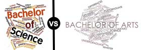 Bachelor of Science vs Bachelor of Arts