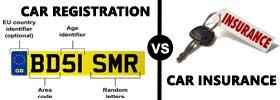 Car Registration vs Insurance