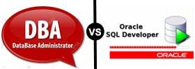 DBA vs Oracle Developer