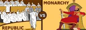 Republic vs Monarchy