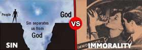 Sin vs Immorality