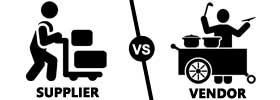 Supplier vs Vendor