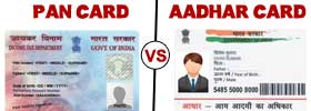 PAN Card vs AADHAR Card