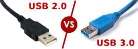 USB 2.0 vs 3.0 Ports