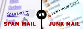 Spam Mail vs Junk Mail