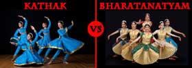 Kathak vs Bharatnatyam Dance