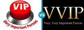 VIP vs VVIP