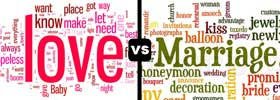 Love vs Marriage