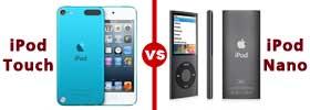 iPod Touch vs iPod Nano