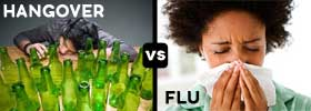 Hangover vs Flu