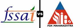 FSSAI vs FDA Maharashtra