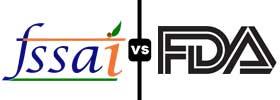 FSSAI vs FDA