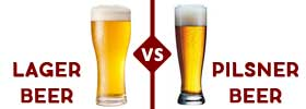 Lager vs Pilsner Beer