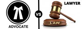 Advocate vs Lawyer