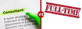 Consultant vs Full Time Employee