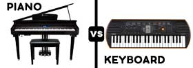 Piano vs Keyboard