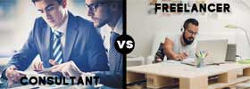 Consultant vs Freelancer