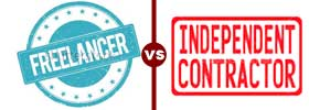 Freelancer vs Independent Contractor