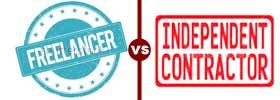 Freelancer vs Independent Contractor