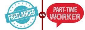 Freelancer vs Part Time Worker