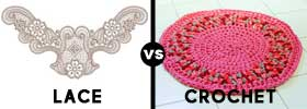 Lace vs Crochet