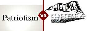 Patriotism vs Nationalism