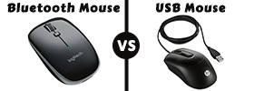USB Mouse vs Bluetooth Mouse