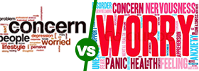Concern vs Worry