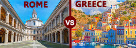 Rome vs Greece