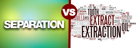 Separation vs Extraction