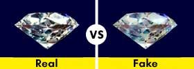 Real Diamond vs Fake Diamond