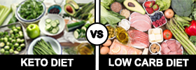 Keto Diet vs Low Carb Diet