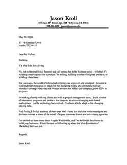 cover letter or letter of interest - Cover Letter Interest Sample