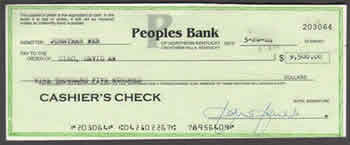 Difference between money order and cashiers check money - Can you cash cheques at the post office ...