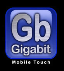 Gigabit Logo Blue