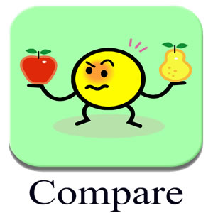 Difference between Comparison and Difference | Comparison ...
