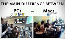 differences between mac and pc