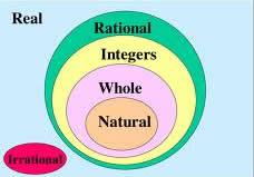 Integer Vs Whole Number Vs Natural Number