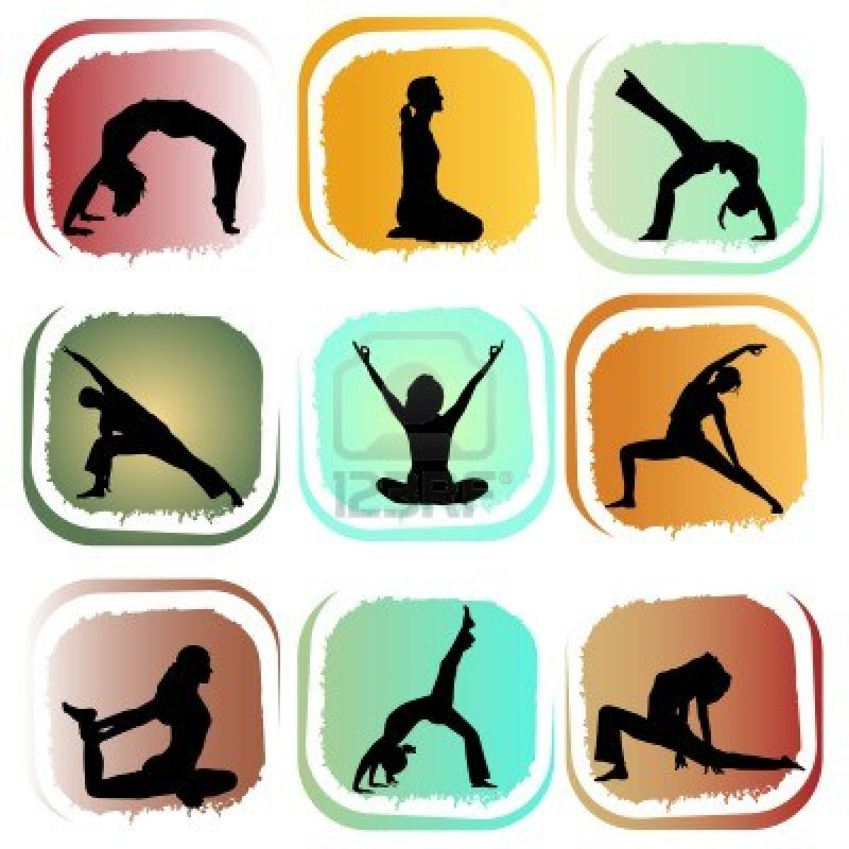 yoga positions  Stock Photo - 10330662